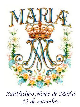 Resultado de imagem para santo  nome de maria