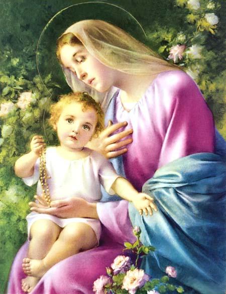 Rosas e Maria